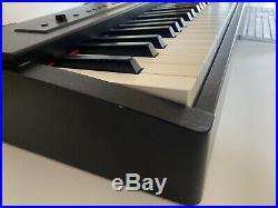 Roland F20 Digital Piano, 88 Keys. Black Veneer-effect casing. Pedal and manual