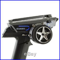 SANWA MT-44 Piano Black 2,4GHz FH3/FH4 + RX-482 101A32174A +HARDCASE FOR FREE