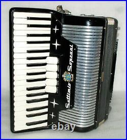 SETTIMIO SOPRANI 96 BASS Piano Accordion Akkordeon Fisarmonica Very good