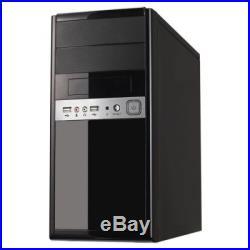 SPIRE 1016 Spire 1016 Micro ATX Case, 500W, Front USB & Audio, Piano Black