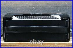 Sonata Accordion 120-Bass 41-Key 5-Treble Switches Black Piano Accordion withCase
