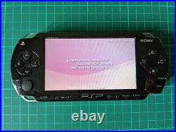 Sony PSP 1000 PlayStation Portable Bundle With 16GB Memory Card + Charger + Case