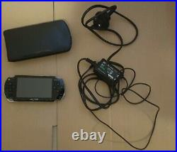 Sony PSP 1003 PlayStation Portable System Piano Black With Carry Case