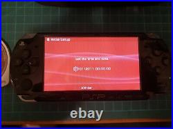 Sony PSP-2003 PlayStation Portable System Black Includes carry case & GTA