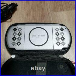 Sony PSP 3000 Console System Kingdom Hearts Limited Edition with Case, Game Soft