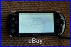 Sony PSP 3000 Piano Black Handheld System with Orginal Box, 4GB Memory Card & Case