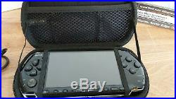 Sony PSP 3003 Slim & Lite Boxed Console Bundle 3 Games +Case New OEM Battery