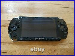 Sony PSP 3003 (piano black) boxed Inc Crash of the Titans and Case
