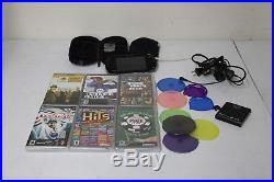 Sony PSP Bundle With 6 games Soft a& Hard Case Slim Piano Black Handheld System