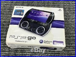 Sony PSP GO Handheld Video Game Console 16GB Piano Black SEALED Brand New W Case