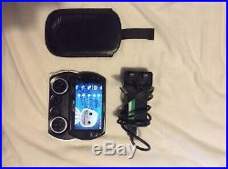 Sony PSP Go 16GB Piano Black Model N1003 with Leather Case and Charger