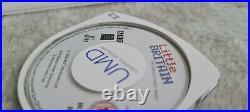 Sony PSP Slim and Lite 2003 Model Piano Black x2 UMDs UMD Case Read Description