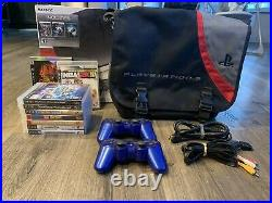 Sony PlayStation 3 PS3 120 GB Bundle Lots of Complete With Games & Carrying Case