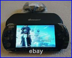Sony PlayStation Portable PSP 3003 Piano Black 2GB Slim and Lite Console + Case