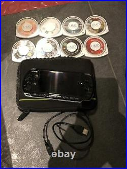 Sony PlayStation Portable PSP 3003 Piano Black Slim and Lite Console + Case
