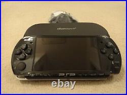 Sony PlayStation Portable PSP 3003 Slim & Lite Piano Black 1GB Memory + Case