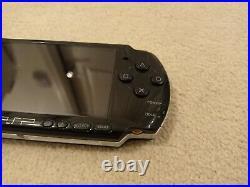Sony PlayStation Portable PSP 3003 Slim & Lite Piano Black Console + 4GB + Case
