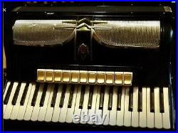 Sorrento piano accordion 3508 Made in Germany 120 bass keys. 11 coupler voices