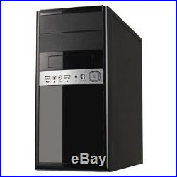 Spire 1016 Micro ATX Case, 500W, Front USB2 & Audio, Piano Black