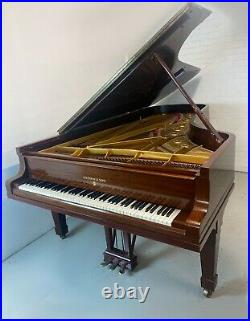 Steinway & Sons Model D 274 Concert Grand Piano Rare Mahogany Case Delivery