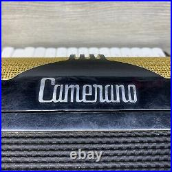 Vintage Camerano Piano Accordion Made In Italy L 123 / 372 With Case