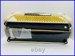 Vintage Florino Piano Accordion With Black Hard Shell Case From Italy