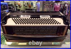 Vintage La Tosca Gretsch Tuxedo Piano Accordion Black withCase Made in Italy