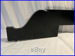 Vintage Wood Cowling Case Pieces for Black Steinway Grand Player Piano