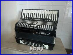 Vintage piano accordion Weltmeister Supita S5 configured and tested + case