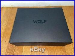 WOLF Savoy 10 Piece Storage Watch Box Case Piano Black 461670 NEW