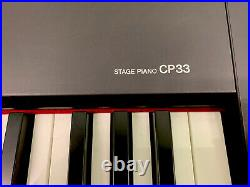 Yamaha CP33 Stage Piano With Soft Carry Case Great Condition