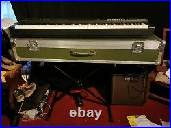 Yamaha CP4 Stage Piano with Swan flight case, pedal and stand. (Used/toured)