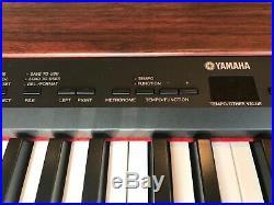 Yamaha P155 Black Digital 88 Weighted Key Stage Piano with pro Gator Hard Case