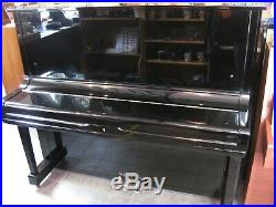 Yamaha U3 Black Gloss Case